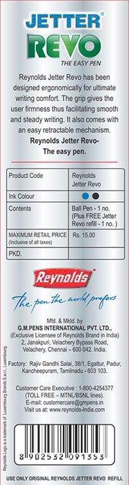reynolds marker 3