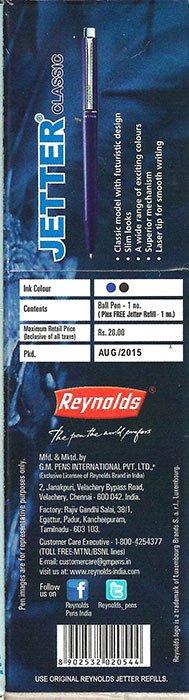reynolds marker 1