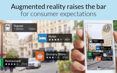 Augmented reality raises the bar for consumer expectations