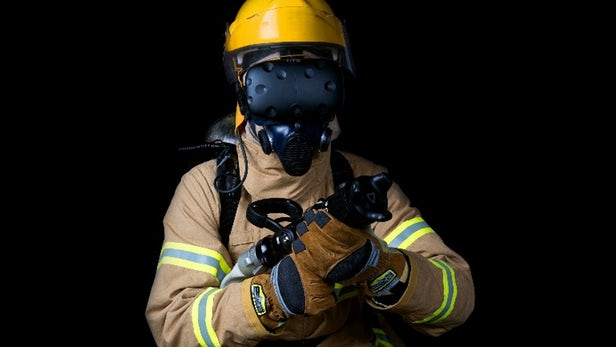 VR firefighter training simulator keeps Big Data close to its chest