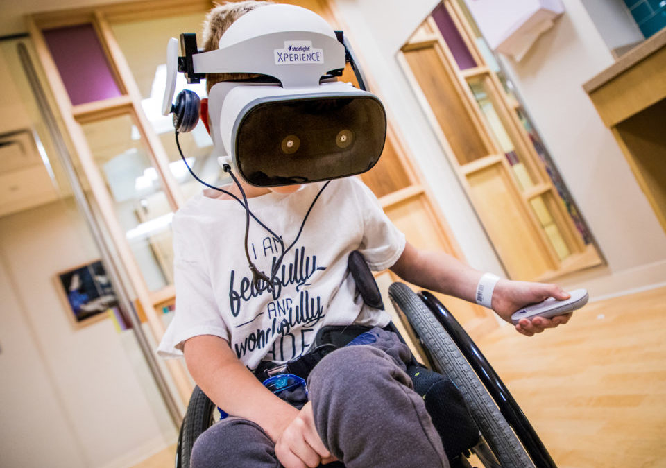 How Virtual Reality Is Providing Playtime for Hospitalized Children