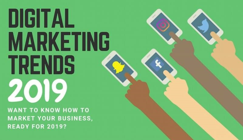 3 Digital Marketing Trends to Look Out For in 2019
